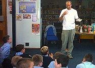 Jamie Rix School Visits