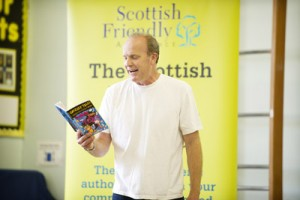 Jamie Rix Scottish Book Trust Tour 2011